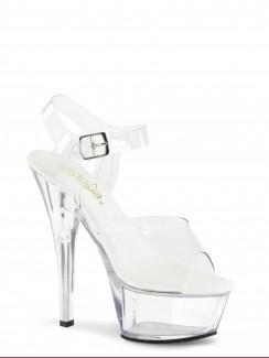490582c9 Pleaser - KISS-208VL All Vegan Ankle Strap Sandal