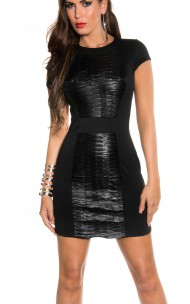 Forever Sexy - 18197 Sexy Leather Dress