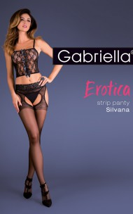 Gabriella - Silvana Garter Stockings